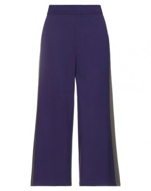 Повседневные брюки ANNARITA N TWENTY 4H. Цвет: фиолетовый