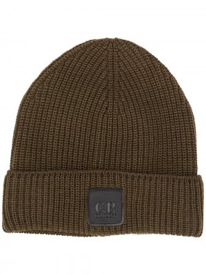 Wool beanie hat C.P. Company. Цвет: зеленый