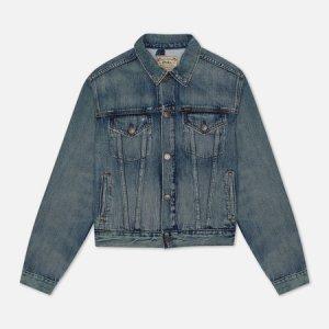 Женская джинсовая куртка Bear Trucker Storms Wash Polo Ralph Lauren. Цвет: голубой
