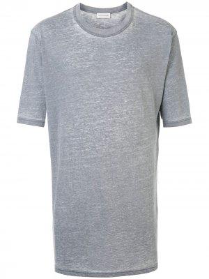 Длинная футболка Faith Connexion. Цвет: серый