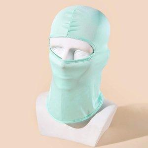 Мужская однотонная шляпа SHEIN. Цвет: мятно-зеленый