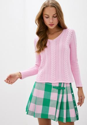 Пуловер United Colors of Benetton. Цвет: розовый
