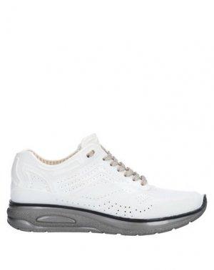 Низкие кеды и кроссовки AIRDP by ISHU+. Цвет: белый
