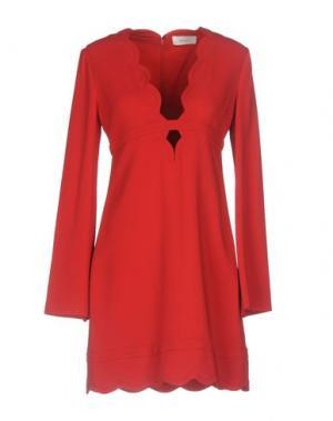 Короткое платье A.L.C.. Цвет: красный