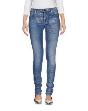 Джинсовые брюки 75 FAUBOURG. Цвет: синий