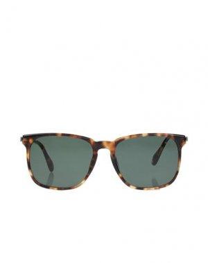 Солнечные очки DUNHILL. Цвет: зеленый