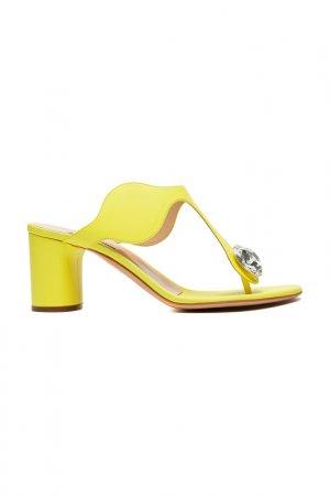 Босоножки Casadei. Цвет: sunny, желтый