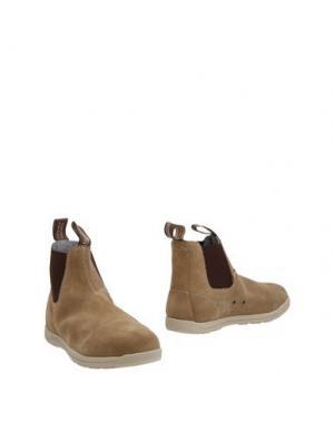 Полусапоги и высокие ботинки BLUNDSTONE. Цвет: песочный
