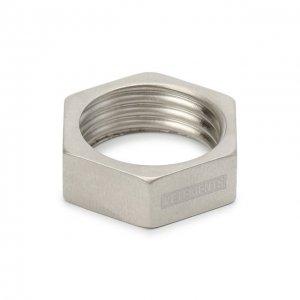 Кольцо Vetements. Цвет: серебряный