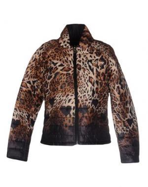Куртка MAISON ESPIN. Цвет: бежевый