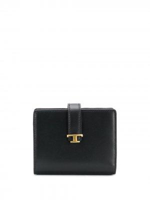 Tods logo wallet Tod's. Цвет: черный