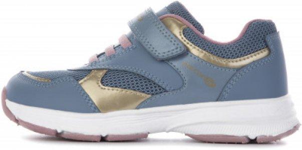 Кроссовки для девочек Hoshiko, размер 31 Geox. Цвет: голубой