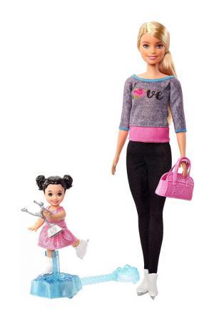 Барби (Фигурное катание) Barbie. Цвет: бордовый