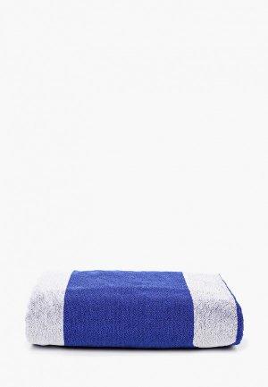 Полотенце EA7. Цвет: синий