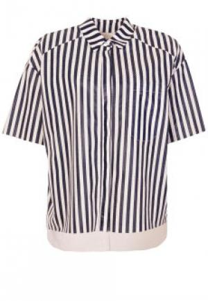 Рубашка DROME. Цвет: разноцветный