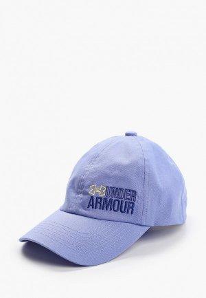 Бейсболка Under Armour Graphic. Цвет: голубой