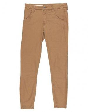 Повседневные брюки CYCLE. Цвет: хаки