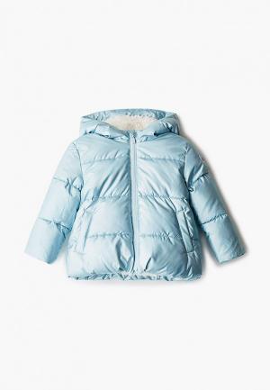 Куртка утепленная Gap. Цвет: голубой