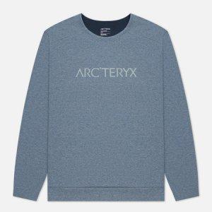 Мужская толстовка Mentum Centre Arcteryx. Цвет: голубой