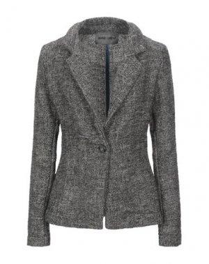 Пиджак BRAND UNIQUE. Цвет: черный