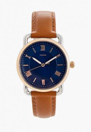 Часы Fossil ES4825. Цвет: коричневый