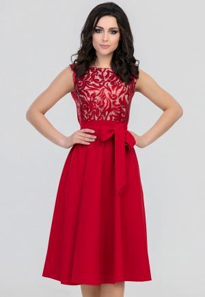 Платье Eva. Цвет: красный