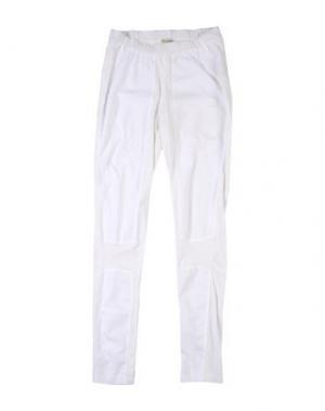 Повседневные брюки ELIANE ET LENA. Цвет: белый