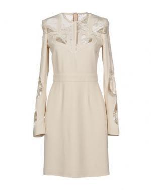 Короткое платье ELIE SAAB. Цвет: слоновая кость