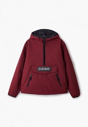 Куртка утепленная Napapijri TAIKA. Цвет: бордовый