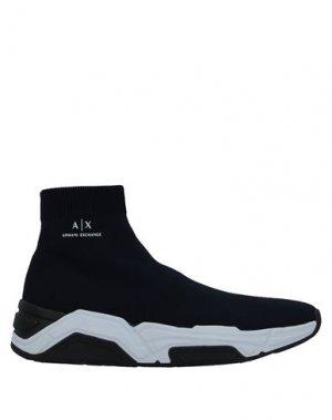 Кеды и кроссовки ARMANI EXCHANGE. Цвет: темно-синий