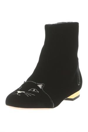 Ботинки Charlotte Olympia. Цвет: черный