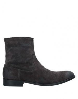 Полусапоги и высокие ботинки HUDSON. Цвет: стальной серый