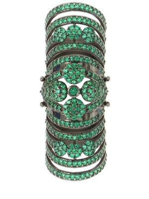 Кольцо удлиненное AAMAYA PRIYANKA. Цвет: разноцветный
