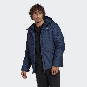 Утепленная куртка BSC Performance adidas. Цвет: синий