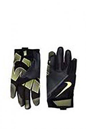 Перчатки для фитнеса MenS Nike. Цвет: черный