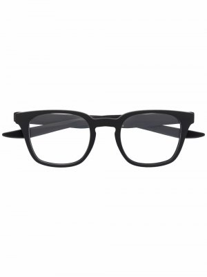 Logo square-frame glasses Nike. Цвет: черный