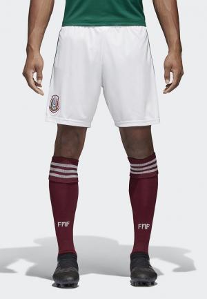 Шорты спортивные adidas FMF H SHO. Цвет: белый