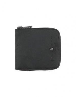 Бумажник BELSTAFF. Цвет: черный