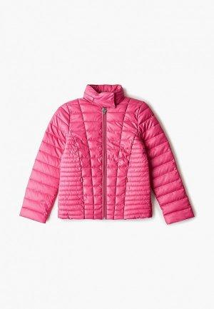 Куртка утепленная Guess. Цвет: розовый
