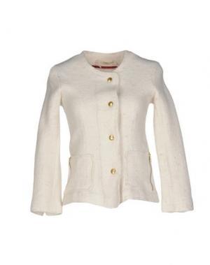 Куртка SAKURA. Цвет: слоновая кость