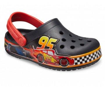 Сабо для мальчиков CROCS Kids Fun Lab Disney and Pixar Cars Band Clog Black арт. 206472. Цвет: black