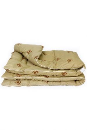 Одеяло зимнее 140х205 см BegAl. Цвет: бежевый