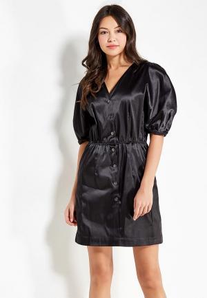 Платье Befree BE031EWYMG10. Цвет: черный
