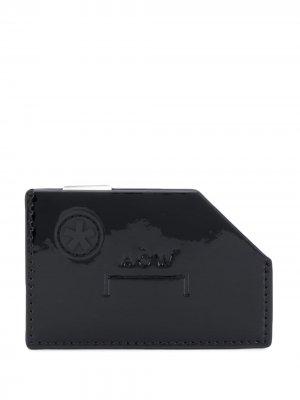 Картхолдер Diecut с тисненым логотипом A-COLD-WALL*. Цвет: черный