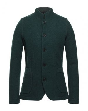 Пиджак ROBERTO COLLINA. Цвет: темно-зеленый