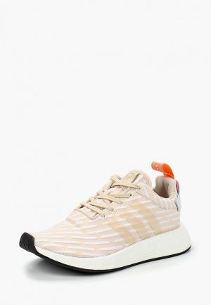 Кроссовки adidas Originals NMD_R2 W. Цвет: бежевый
