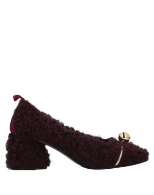 Туфли LORENA PAGGI. Цвет: баклажанный