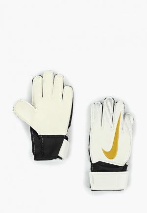 Перчатки вратарские Nike Junior Match Goalkeeper Kids Football Glove. Цвет: белый