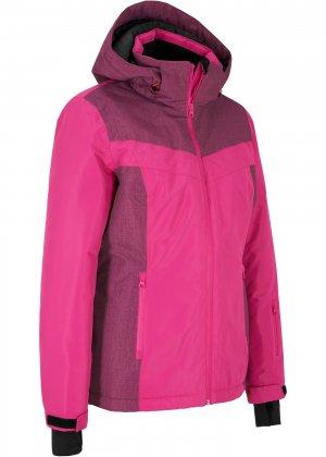 Куртка спортивная bonprix. Цвет: ярко-розовый