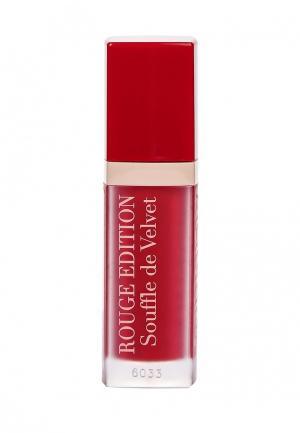 Помада Bourjois Rouge Edition Souffle de Velvet Тон 07. Цвет: красный